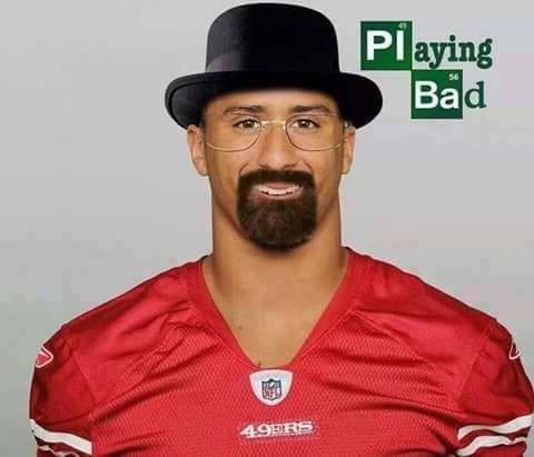 #playingbad #ColinKaepernick #49ershaters.- playing bad, Colin Kaepernick, 49ers haters