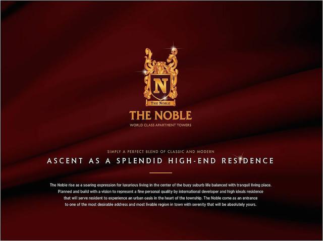 Brochure Apartemen The Noble Alam Sutera