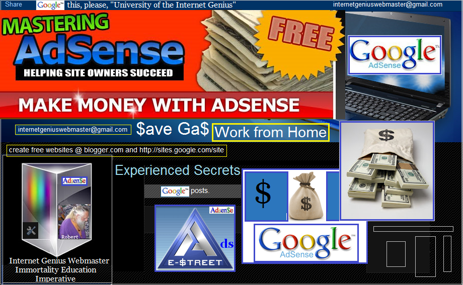 My Adsense Advice for You