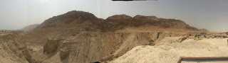 Wilderness near Qumran Israel