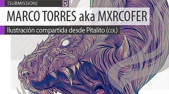 Ilustración. Hilos de dragón de MARCO TORRES BERMEO