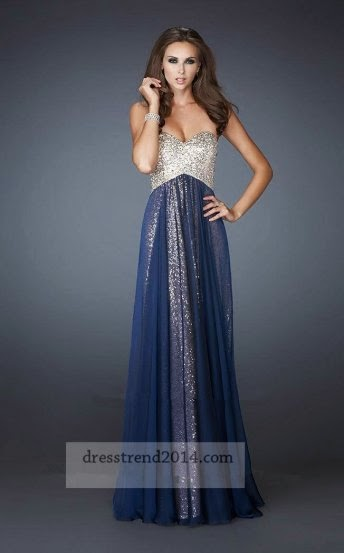 Gorgeous Long Prom Dresses For The 2014 Prom Evening