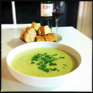 Potato, Coriander & Chilli Soup