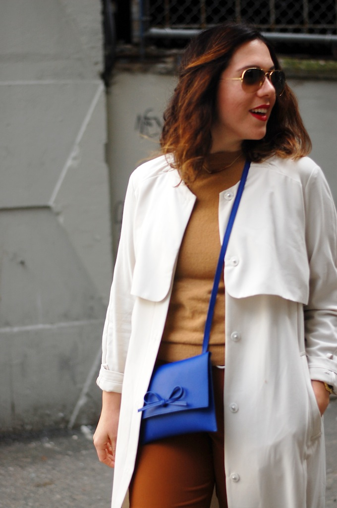Joe Fresh cashmere, Gap crossbody bag and Aritzia Buffon pant Vancouver blogger
