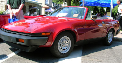 Triumph would also sell you a convertible TR7, these looked better and outsold the coupe