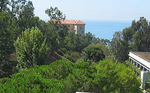 Malibu - Vila de Leon; Malibu; Getty Villa; California; Estados Unidos