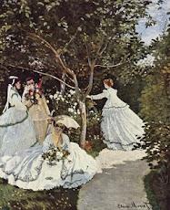 Mulheres no jardim