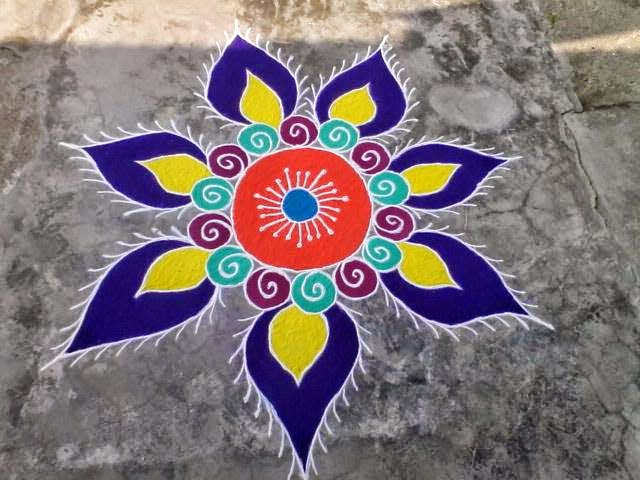Easy Rangoli Design 6. 30 Rangoli Designs for all Occasions
