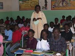 LE CM1 EN CLASSE AVEC Mme DIOUF