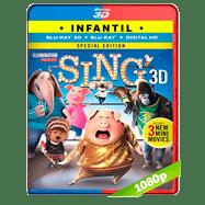 Sing: ¡Ven y canta! (2016) 3D Half OU 1080p Audio Dual Latino-Ingles