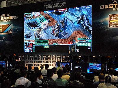 Campeonato realizado no Campus Party Brasil 2012