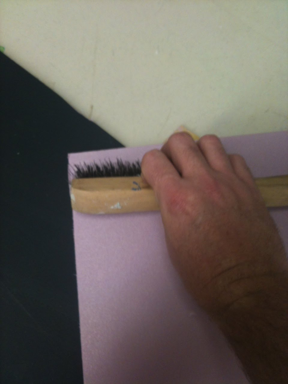 Creative construction how to make styrofoam look like wood