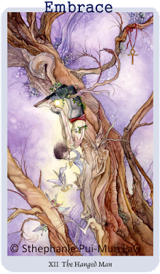 Shadowscapes Tarot, The Hanged Man, Stephanie Pui-Mun Law