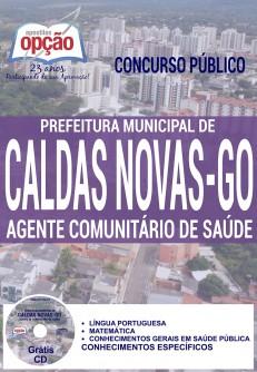 Apostilas Concurso Caldas Novas-GO 2016 (GRÁTIS CD)