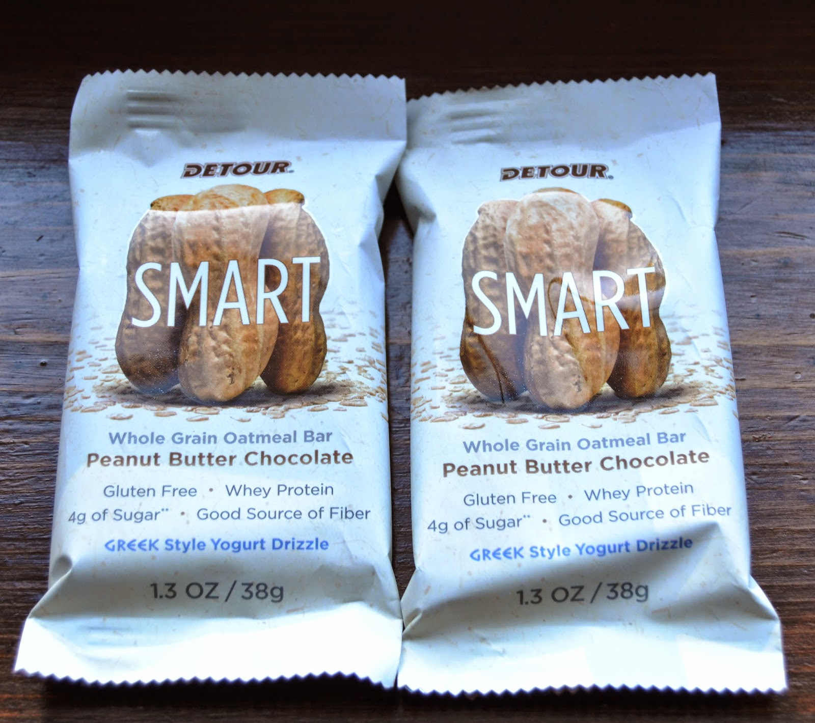 Detour Smart Peanut Butter Chocolate Bars