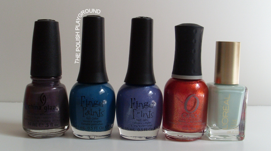 China Glaze, Finger Paints, Orly, L'Oreal