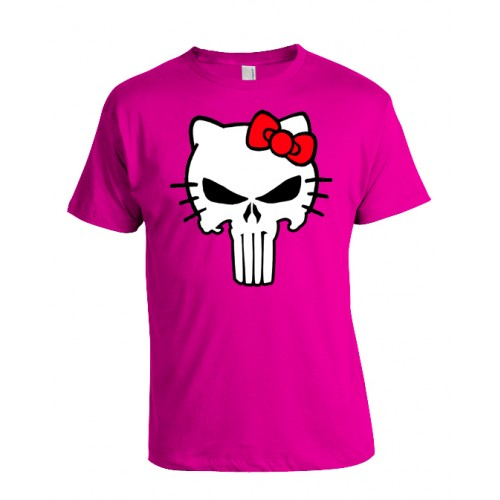 Camiseta Friki Hello Punisher