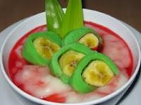 Resep membuat pisang ijo khas makasar