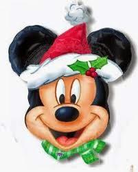 Máscar Mickey Mouse navidad
