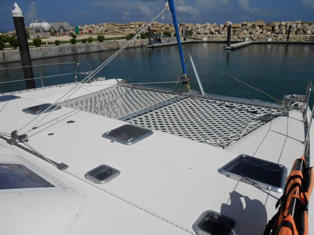 solarium catamaran