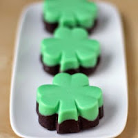 Creme de Menthe Fudge Sharmocks