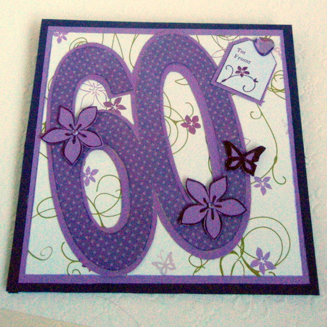 D dazzled scraps a 60th birthday and a christening card i had another special order this week to create which was a 60th birthday card for the customers sister and a christening card for her grandson bookmarktalkfo Choice Image