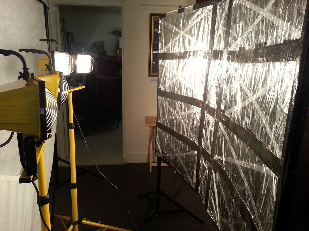 lighting like a hollywood feature film 1000 watts of diy beauty