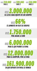 La Libertadores y los dólares