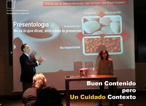 Curso sobre cómo hacer presentaciones exitosas