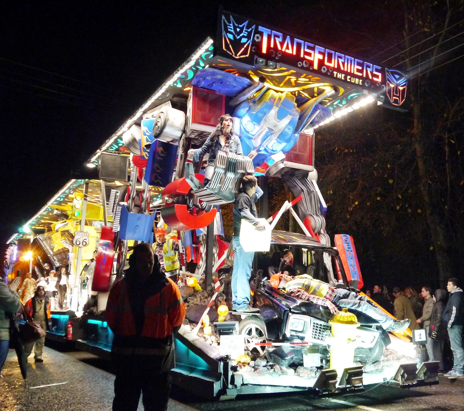 Somerset Carnival Season 2014 - Gemini Carnival Club with 'Transformers: The Cube'