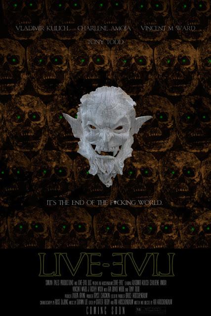 live evil poster