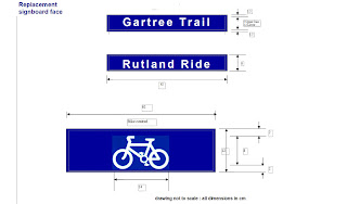 design drawing for new signs