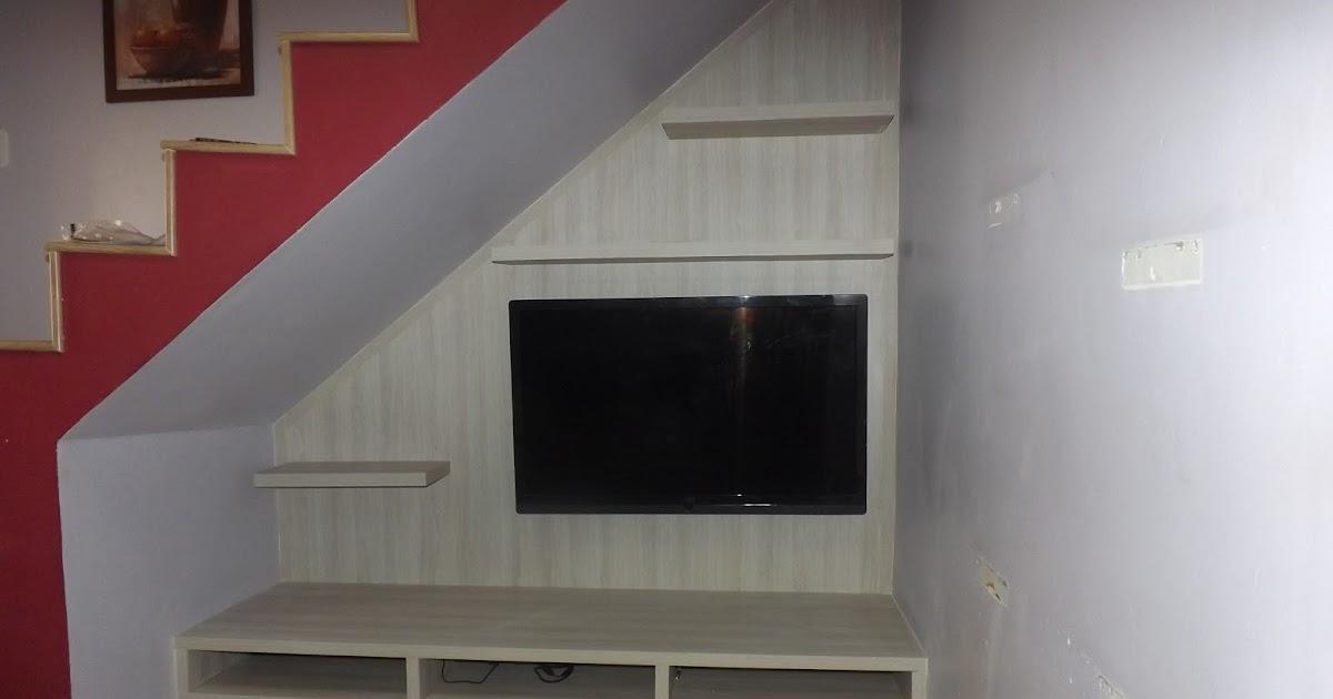 Marcenaria J. A. S.: Painel Pra TV e Rack Embutido, Acabamento em MDF