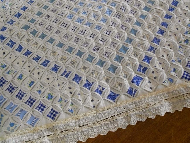 Ramen Lappen en kleine Trunkshow bij QUILT-IT & DOTTY