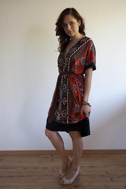Einfaches (Maxi-)Kleid nach Schemaschnitt | von mri