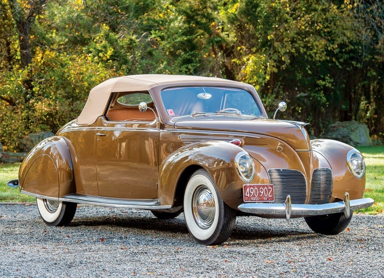 world of classic cars lincoln zephyr convertible coupe 1938 world of classic cars. Black Bedroom Furniture Sets. Home Design Ideas