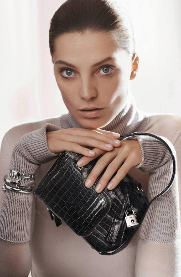 Daria Werbowy by David Sims for Salvatore Ferragamo Fall/Winter 2013 campaign via fashioned by love british fashion blog