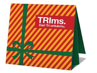 TRIms Gratis untuk Pelanggan Setia