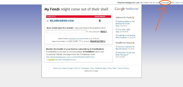 FeedBurner (RSS)