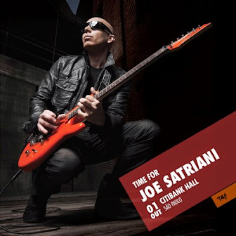 Joe Satriani Brazil tour 2014