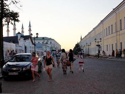 Улица Шейкмана в Казанском кремле