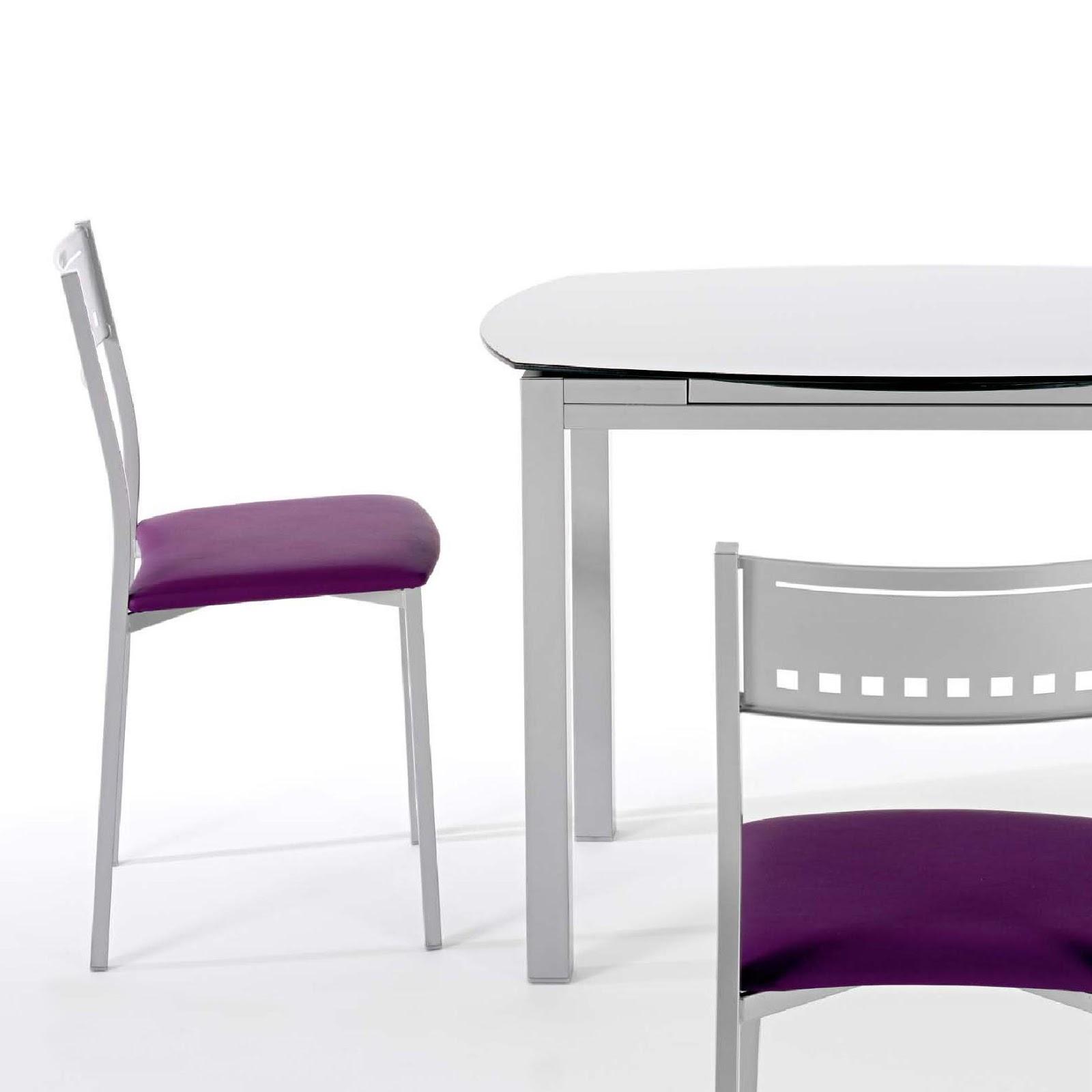 Mesa ovalada y redonda tu cocina y ba o - Mesa de cocina redonda extensible ...