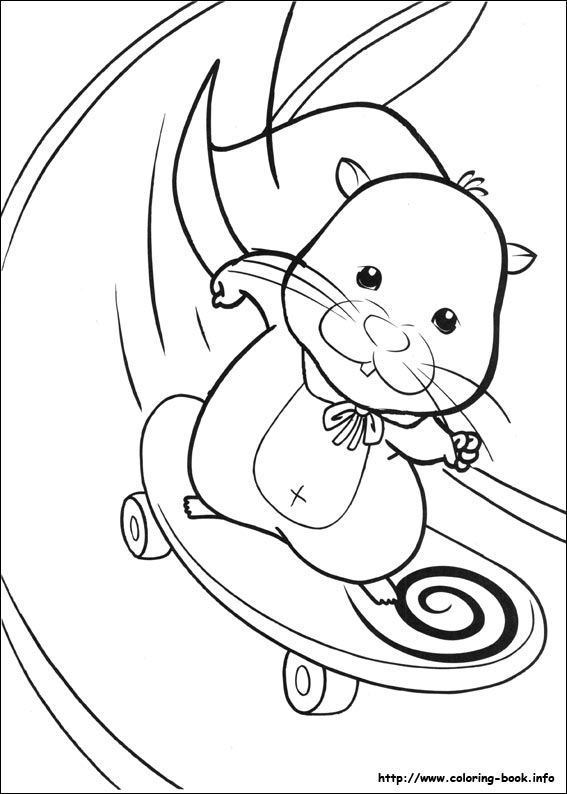 Coloring Pages for Kids Skateboard Coloring Pages