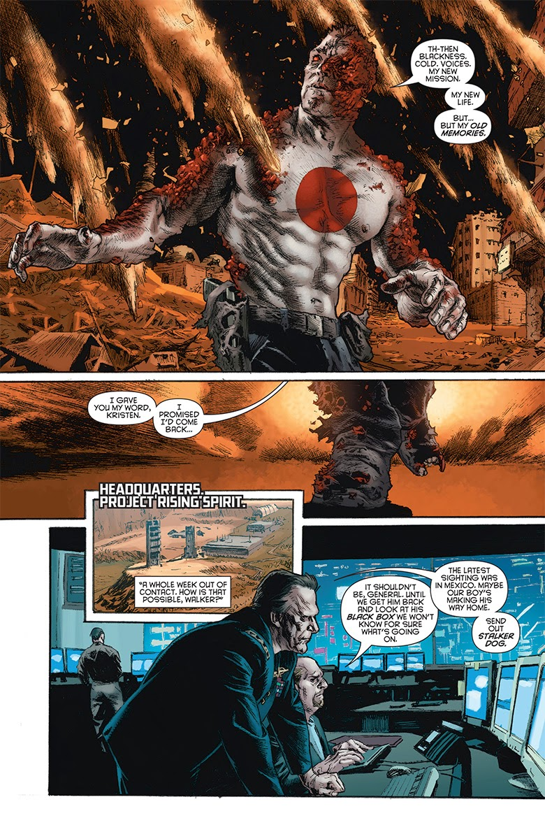 BLOODSHOT #25 – Interior Preview Art