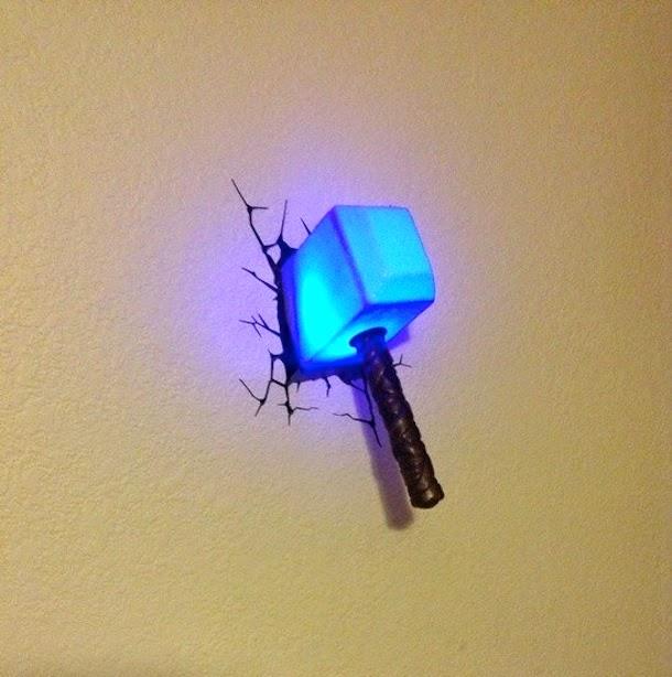 lampu tidur indah, keren, kreatif, menawan