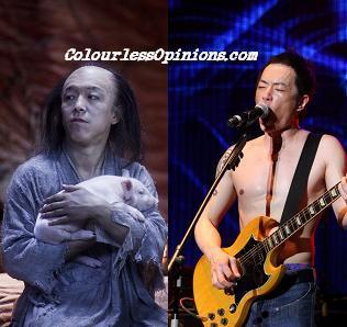Huang Bo looks like Paul Wong