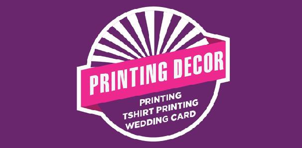 Kad Kahwin Perak Printing Decor