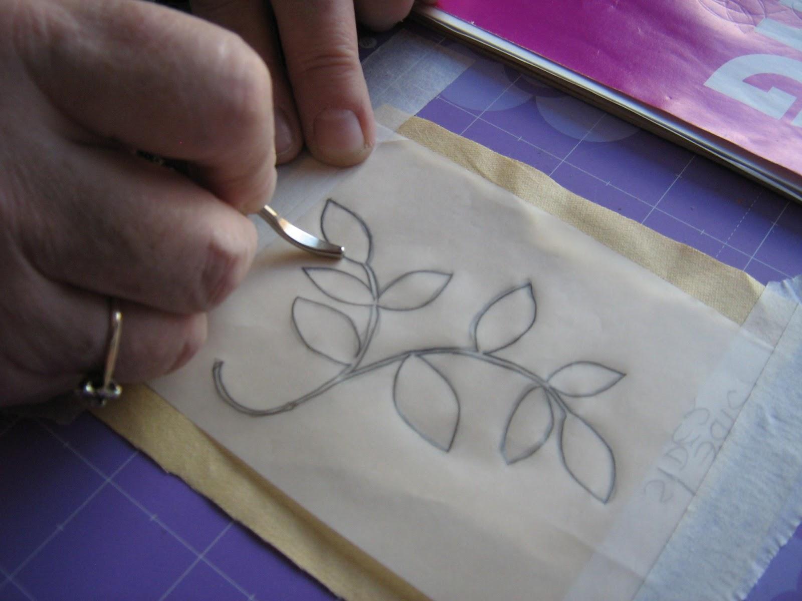 Ellas Craft Creations Design Transfer Tutorial Way And