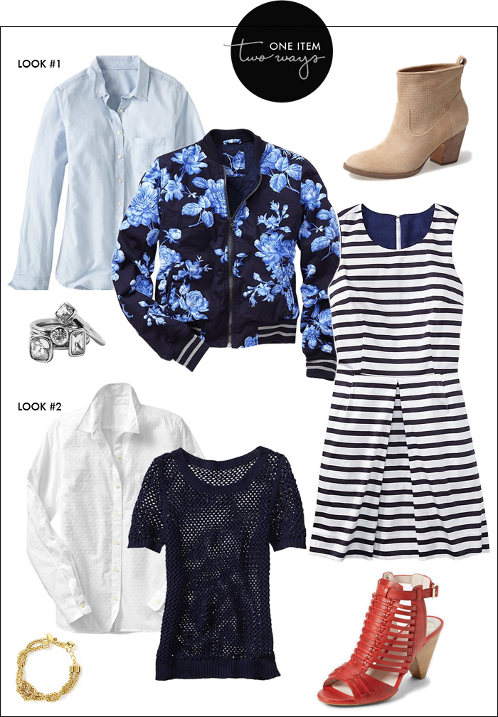 striped dress, how to wear stripes, booties in spring, gap sale, banana republic, ivanka trump booties, vince camuto