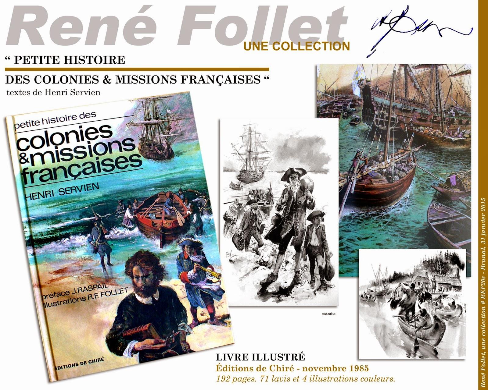 Rene Follet Une Collection Petite Histoire Des Colonies